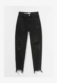 Bershka - Jeans Relaxed Fit - black - 5