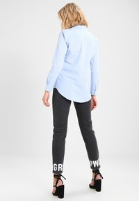 JDY - JDYMIO - Button-down blouse - blue/cloud dancer - 2