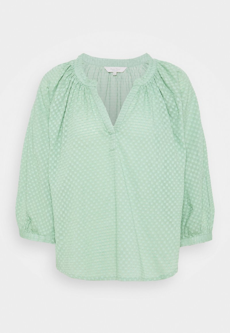 Part Two - Blouse - granite green