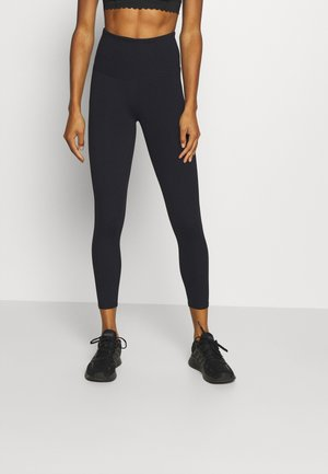 ACTIVE HIGHWAIST CORE 7/8 - Punčochy - black
