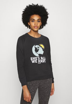 YSTAD RAGLAN ALL WE HAVE - Sweatshirt - charcoal