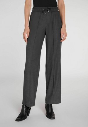 Trousers - darkgrey mel