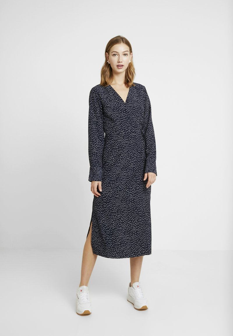 Monki - ERICA DRESS - Kjole - shadow navy