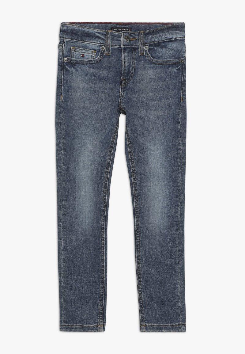 Tommy Hilfiger - STEVE SLIM TAPERED  - Slim fit jeans - denim