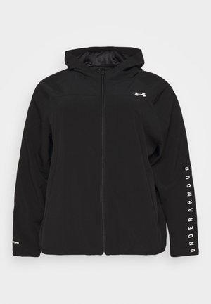 HOODED JACKET - Training jacket - black