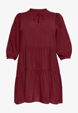 CARNEWMARRAKESH 3/4 TUNIC DRESS - Korte jurk - pomegranate