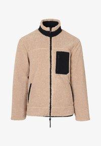 Scalpers - REVERSIBLE - Fleece jacket - beige - 6