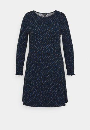 MINI DRESS - Sukienka z dżerseju - black