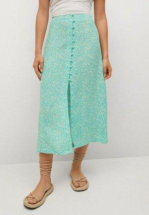 A-line skirt - turkoois