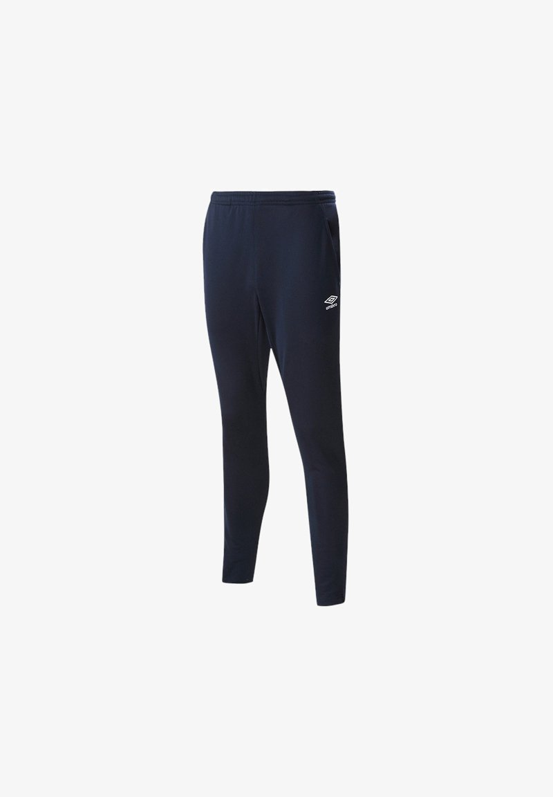 Umbro - HOSEN TAPERED PANTS JOGGINGHO - Trousers - blau
