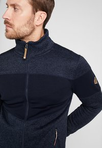 Icepeak - ABBOTT - Fleece jacket - dark blue - 3