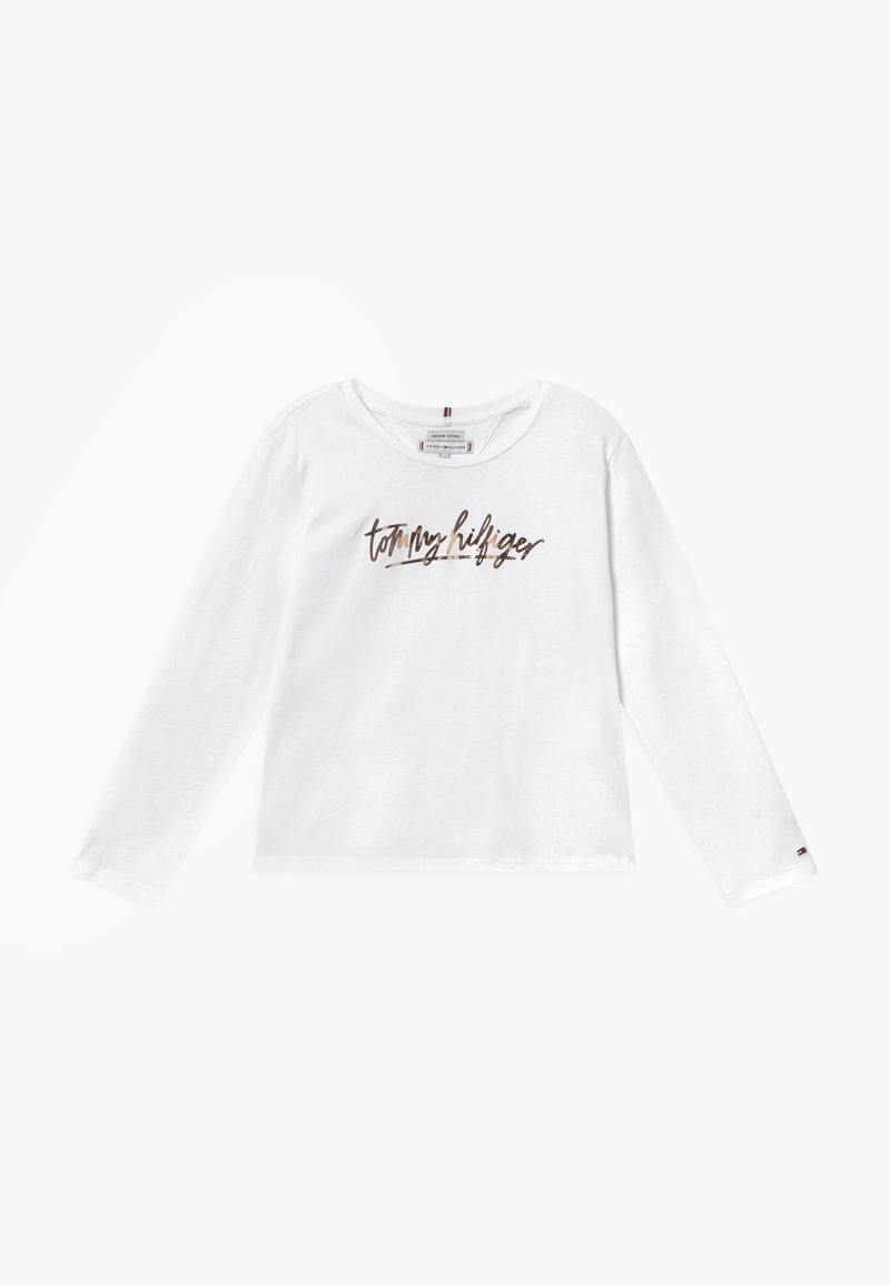 Tommy Hilfiger - VINYL - Long sleeved top - white