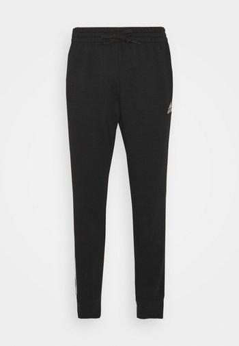 3 STRIPES  ESSENTIALS - Teplákové kalhoty - black/white
