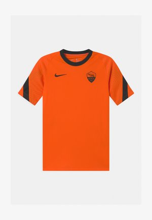 AS ROM UNISEX - Club wear - safety orange/black
