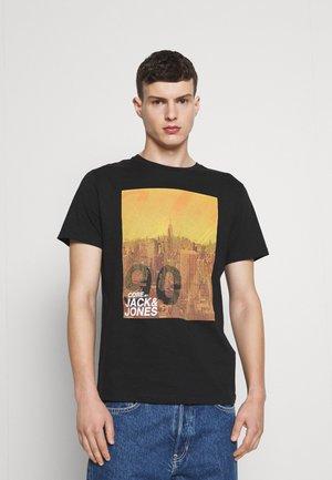 JCOJACKSON TEE  - Print T-shirt - black