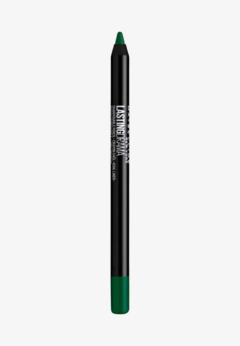 Maybelline New York - LASTING DRAMA KHOL LINER - Eyeliner - couture green