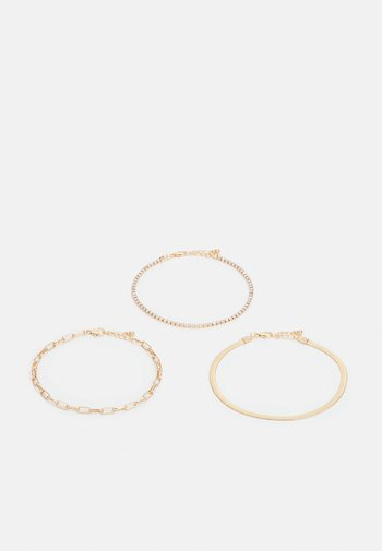 FGISABELLE ANKLET 3 PACK - Other accessories - gold-coloured