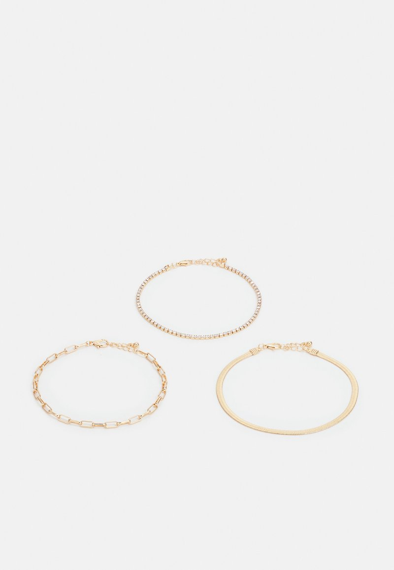 Fire & Glory - FGISABELLE ANKLET 3 PACK - Other accessories - gold-coloured