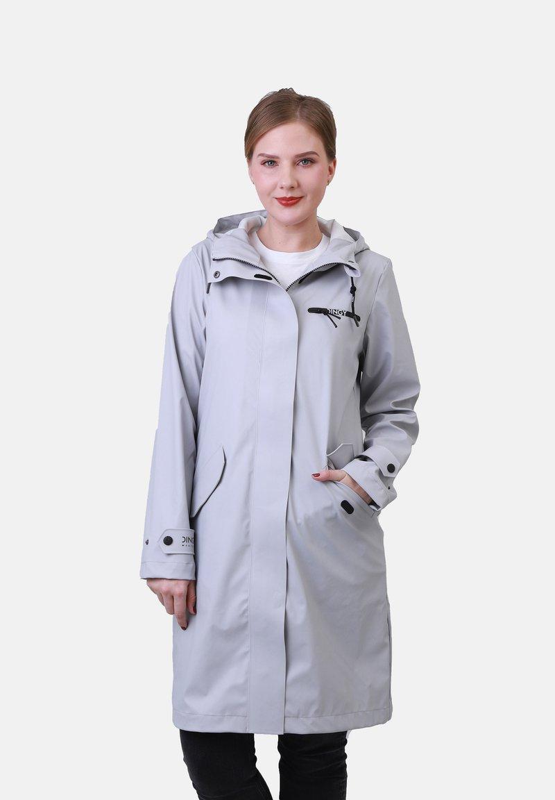 Dingy Rhythm Of The Rain - Waterproof jacket - stein