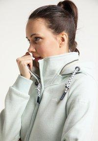 Schmuddelwedda - Zip-up hoodie - rauchmint melange - 3