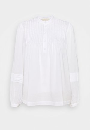 PINTUCK 2-IN-1 - Blouse - white
