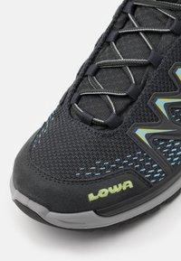 Lowa - INNOX PRO GTX MID - Hiking shoes - graphite/mint - 5