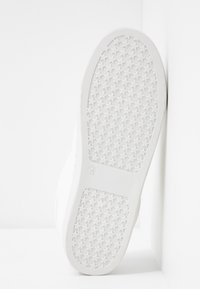 Dorothy Perkins - INFERNO ANIMAL SIDE PANEL LACE UP TRAINER - Trainers - white - 6