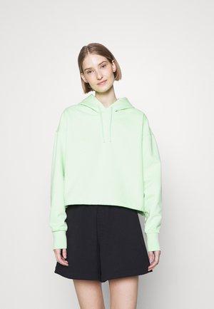 BILBO CROPPED HOODIE - Sweater - light  green