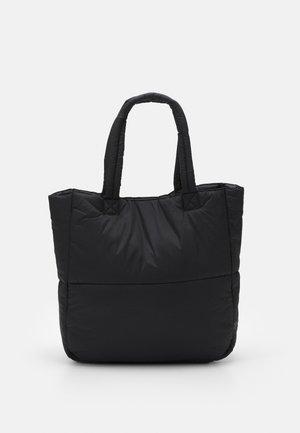 PCFULLA PADDED SHOPPER - Tote bag - black