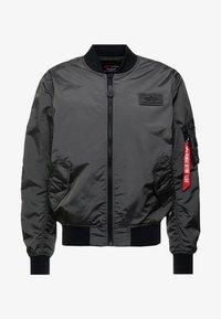 Bomber Jacket - grey/black