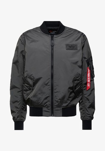 Bombertakki - grey/black