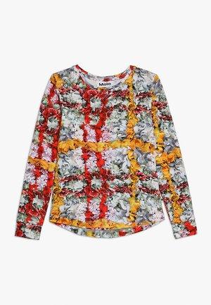 ROXANA - Top sdlouhým rukávem - multi-coloured/red