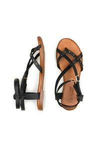 Eva Lopez - Ankle cuff sandals - black - 1