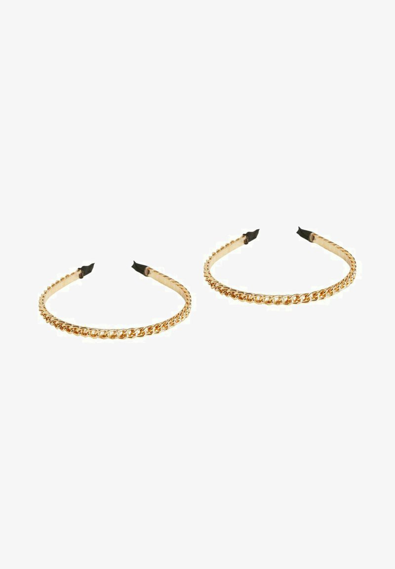Vila - 2 PACK - Hair styling accessory - gold colour