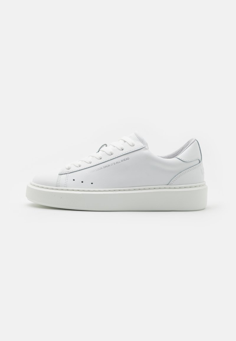MSGM - SIDE LOGO NEW CUPSOLE - Baskets basses - white