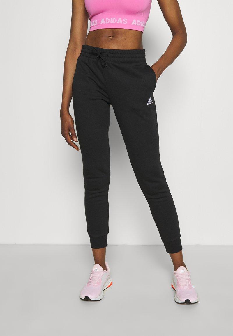 adidas Performance - Pantaloni sportivi - black/white