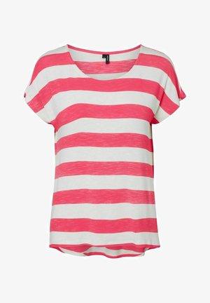 Print T-shirt - honeysuckle