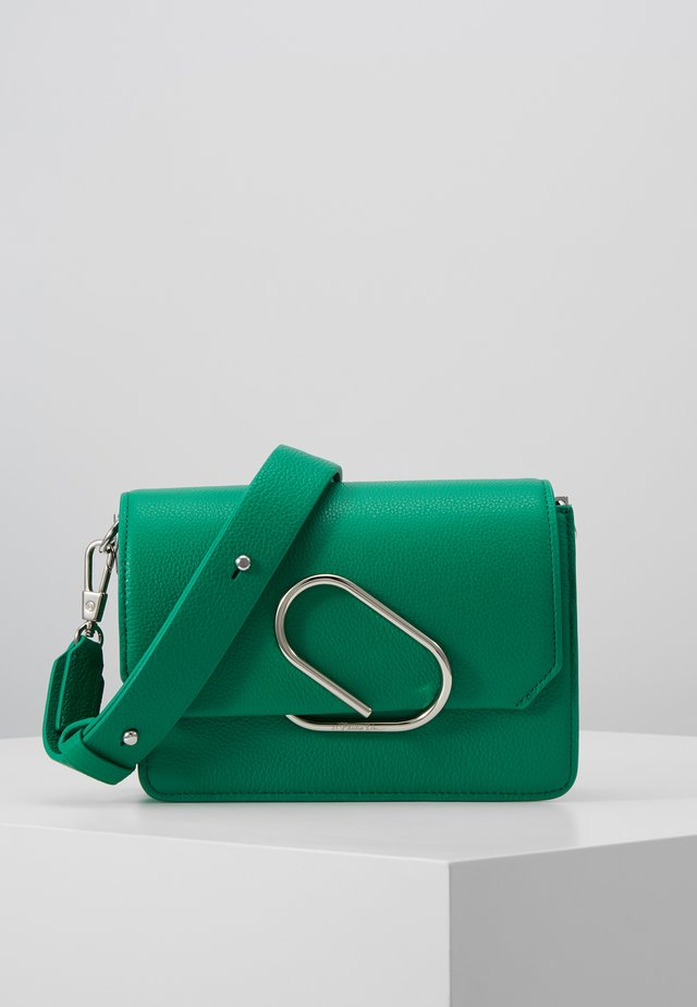 ALIX MINI SHOULDER BAG - Olkalaukku - kelly green