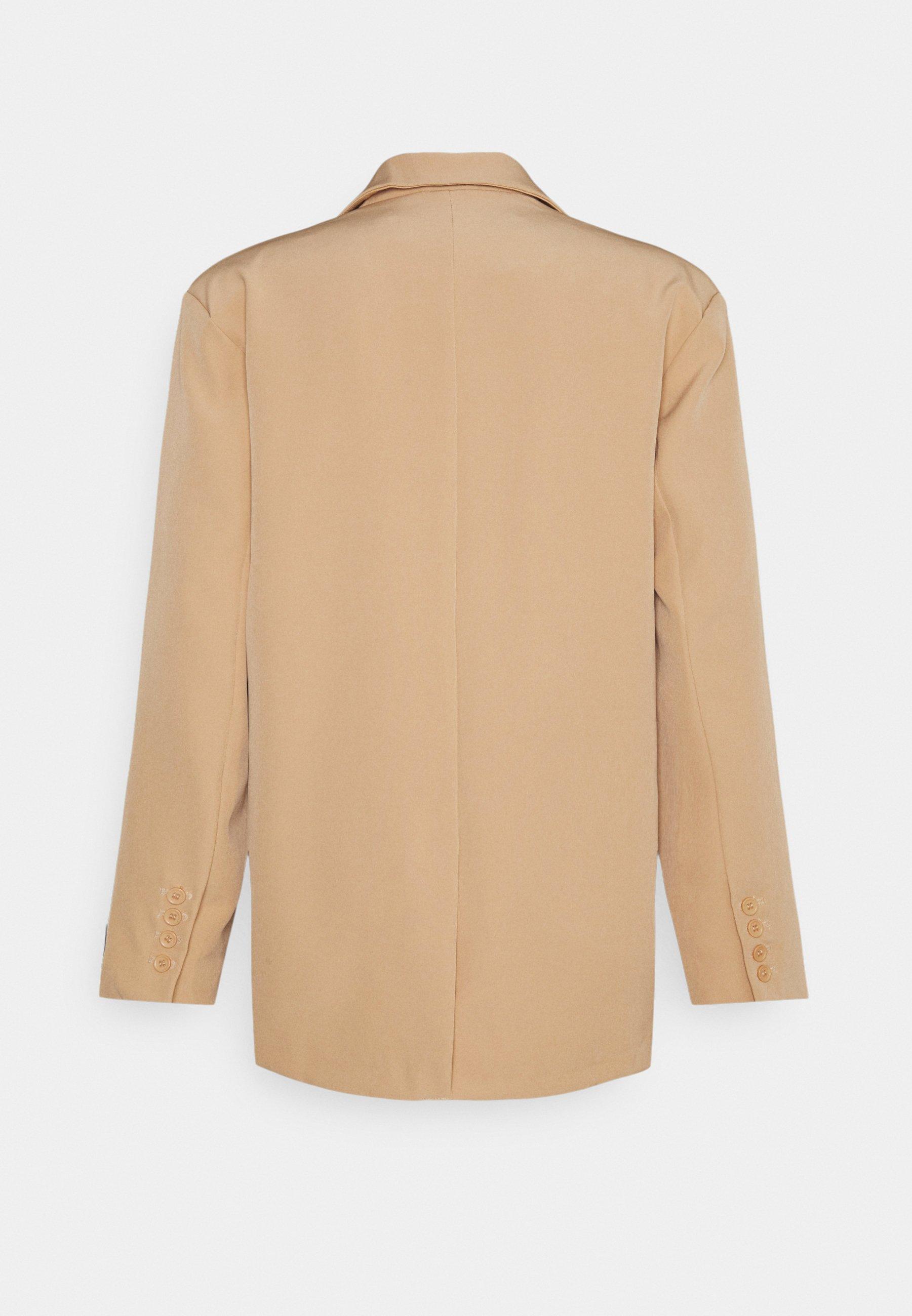 Men DOUBLE BREASTED CREPE SUIT JACKET - Blazer jacket