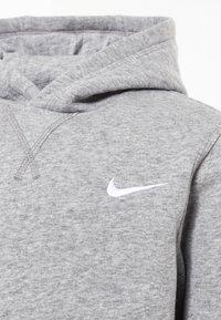 Nike Performance - Luvtröja - dk grey heather/white - 2