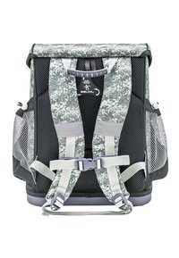 Belmil - SET - School bag - mottled grey - 1