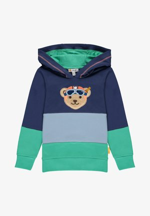 HIGH FIVE MIT VESPA-BÄR - Hoodie - deep cobalt