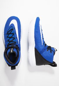 Nike Performance - ZOOM RIZE TB - Basketball shoes - game royal/white/black - 1