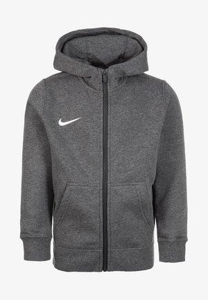CLUB19 - Zip-up sweatshirt - charcoal heather
