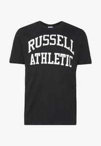 CREWNECK TEE - T-shirt print - black