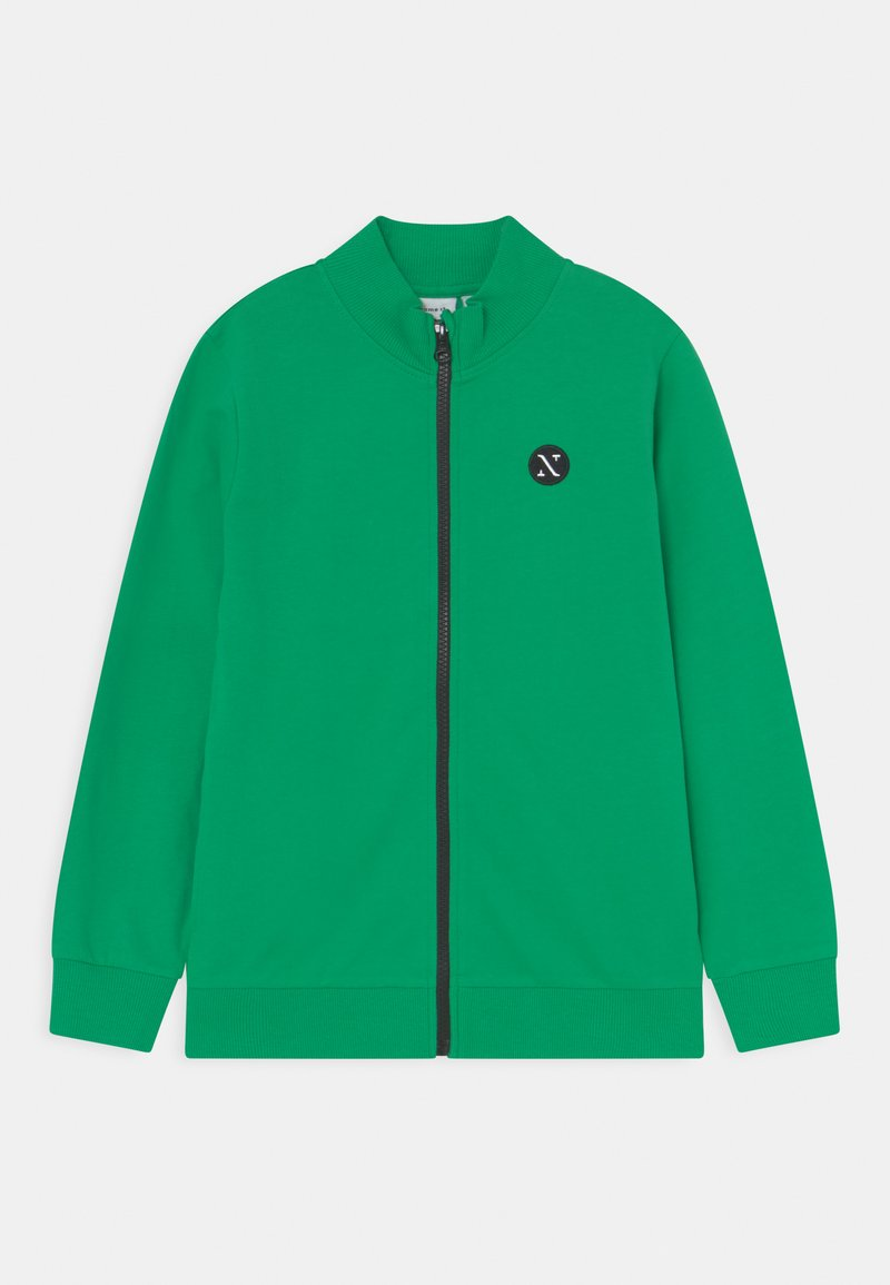 Name it - NKNFALKE  - Sweater met rits - green