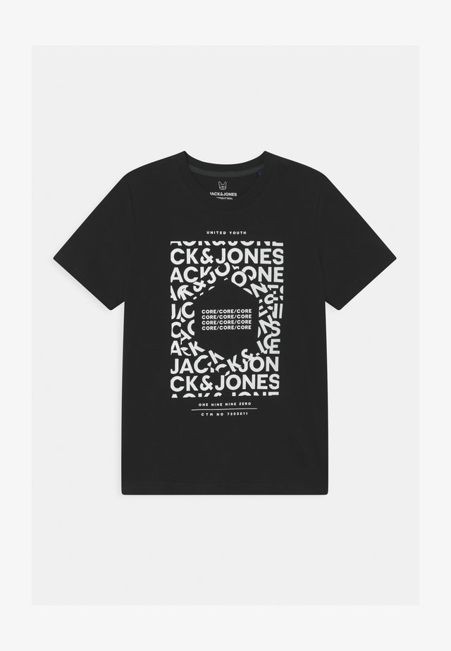 JCOAKE CREW NECK  - T-shirt print - black