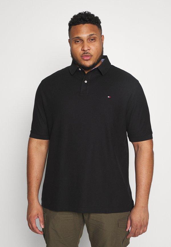 Tommy Hilfiger Koszulka polo - black/czarny Odzież Męska RAUZ