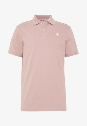 DUNDA SLIM POLO S\S - Polo shirt - chocolate berry