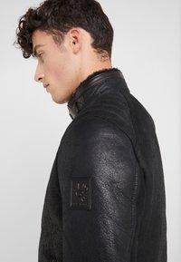 Belstaff - WESTLAKE JACKET - Leather jacket - black - 4